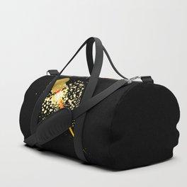 Flying Rocket Powered Cork Duffle Bag
