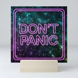 Don't Panic Mini Art Print