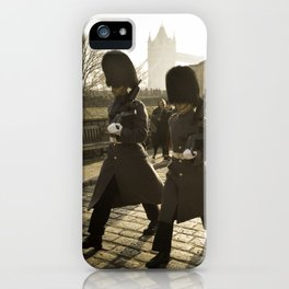 England - Tower of London Guards iPhone Case