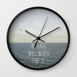 Those who don't believe... Wall Clock