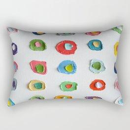 Concentric Polka Daubs 2 Rectangular Pillow