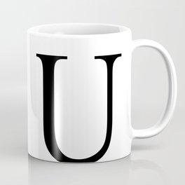 U letter Coffee Mug