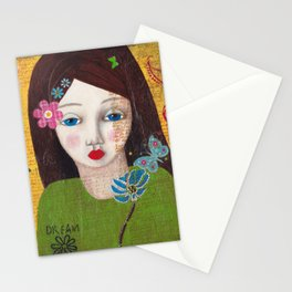 Dream, Mixed Media Artwork Stationery Cards