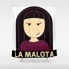 La Malota Shower Curtain