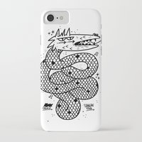 snake iPhone & iPod Cases featuring Snake  by Borneo Modofoker