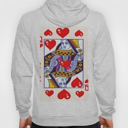 RED QUEEN OF ALL MY HEARTS Hoody