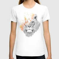king T-shirts featuring If I roar (The King Lion) by Picomodi