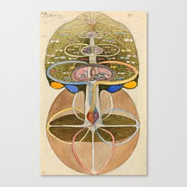 "Hilma af Klint ""Tree of Knowledge No. 1"" Canvas Print"
