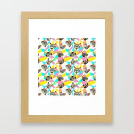 Army Of Cats Framed Art Print