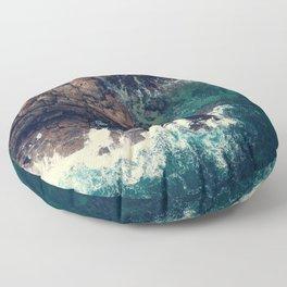 ocean breeze Floor Pillow