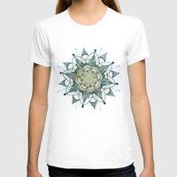 chakra T-shirts featuring Heart Chakra by brenda erickson
