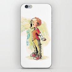The Kid Who Ate Garlic iPhone & iPod Skin