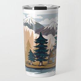 Summer cabin Travel Mug