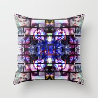 beth hoeckel Throw Pillows featuring BETH DITTO by Riot Clothing
