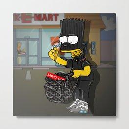 Goyard X GG X Supreme X Bart Metal Print