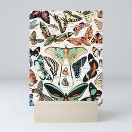 Adolphe Millot - Papillons pour tous - French vintage poster Mini Art Print
