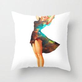 Cosmic Pinup # 2 Throw Pillow