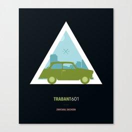 Icotrip - Trabant601 Canvas Print