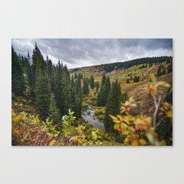 Wyoming Fall Canvas Print