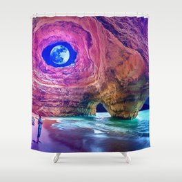 Alone with Nature by GEN Z Shower Curtain