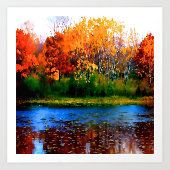 Remember Autumn Art Print
