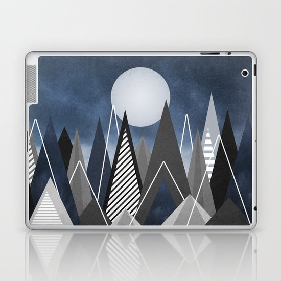 Midnight Mountains Laptop & iPad Skin