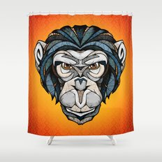 Chimpanzee Shower Curtain