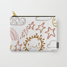 Happy Sun Carry-All Pouch