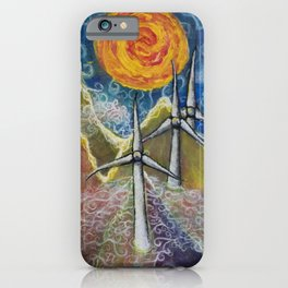 Windy Day in Tucker County iPhone Case