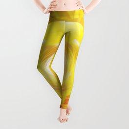 Gold In My Belly (Solar Plexus Chakra) Leggings