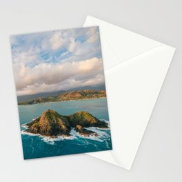 The Mokes and Lanikai Beach Stationery Cards