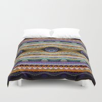 stripe Duvet Covers featuring stripe by Antracit