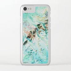 SPLLRGGR Clear iPhone Case