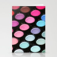 makeup Stationery Cards featuring Makeup by Ink and Paint Studio