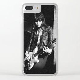 not just another runaway Clear iPhone Case