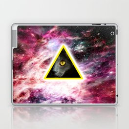 Illuminati Universe Cat  Laptop & iPad Skin