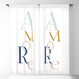 Amore Blackout Curtain
