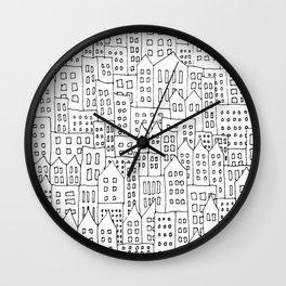 Coit City Pattern 1 Wall Clock