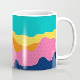 Over The Sunset Mountains III Coffee Mug