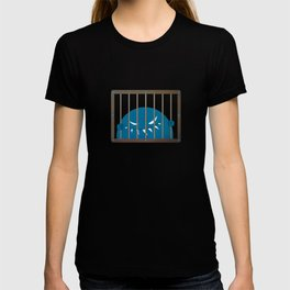 Evil Monster Kingpin Jailed T-shirt