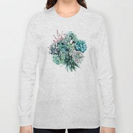 Cactus circle Long Sleeve T-shirt