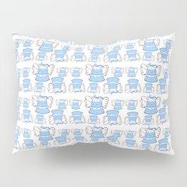 Blue Bell and Cloud Pillow Sham