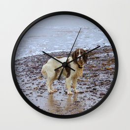 after swimming Wall Clock