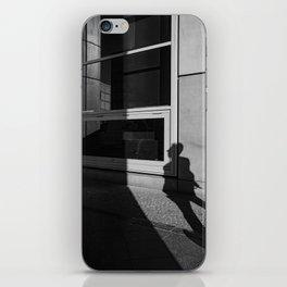 shadow of a walker iPhone Skin