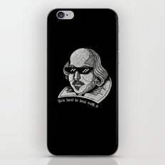 thou hast to deal with it iPhone & iPod Skin