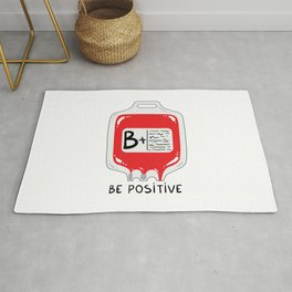 Be positive Rug
