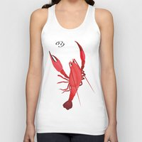 cancer Tank Tops featuring Cancer by Rejdzy