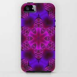 Abstract X Two iPhone Case