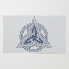 Triskele Points - Blue Rug