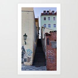 Callejon Art Print